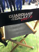 GOTG Vol 2 BTS chair