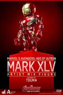 Iron Man artist mix 3