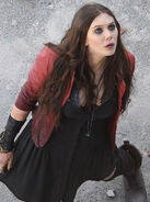 Scarlet Witch set photo