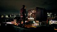 Daredevil Suit Back