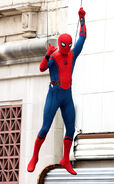 Spider-Man HC BTS 5