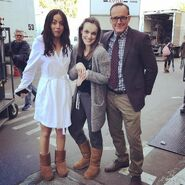 What If Coulson Skye Jemma BTS