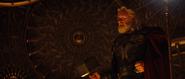 Odin wielding Mjolnir