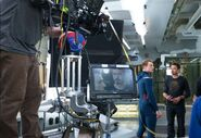 The Avengers filming 11