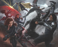 Captain America Civil War - Concept Art - Avengers