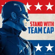 Stand with Team Cap