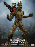 Groot Rocket Hot Toy