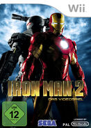 IronMan2 Wii DE cover