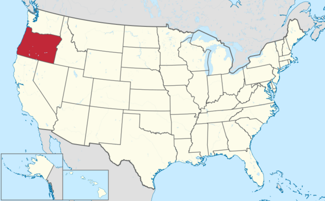 File:Map of Oregon.png