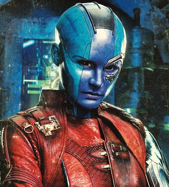 Nebula | Marvel Cinematic Universe Wiki | FANDOM powered ...