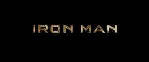 Iron Man Title Card (2008)