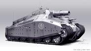 HYDRA tank concept