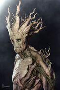 Groot Gotg Concept Art 1