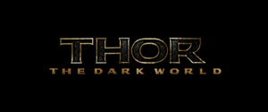 Thor The Dark World Title Card (2013)