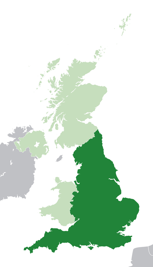 Файл:Map of England.png