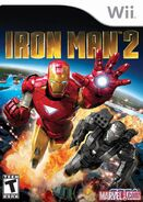 IronMan2 Wii US cover