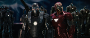War Machine & Iron Man (Mark VI)
