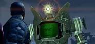 Zolabot confronts Captain America