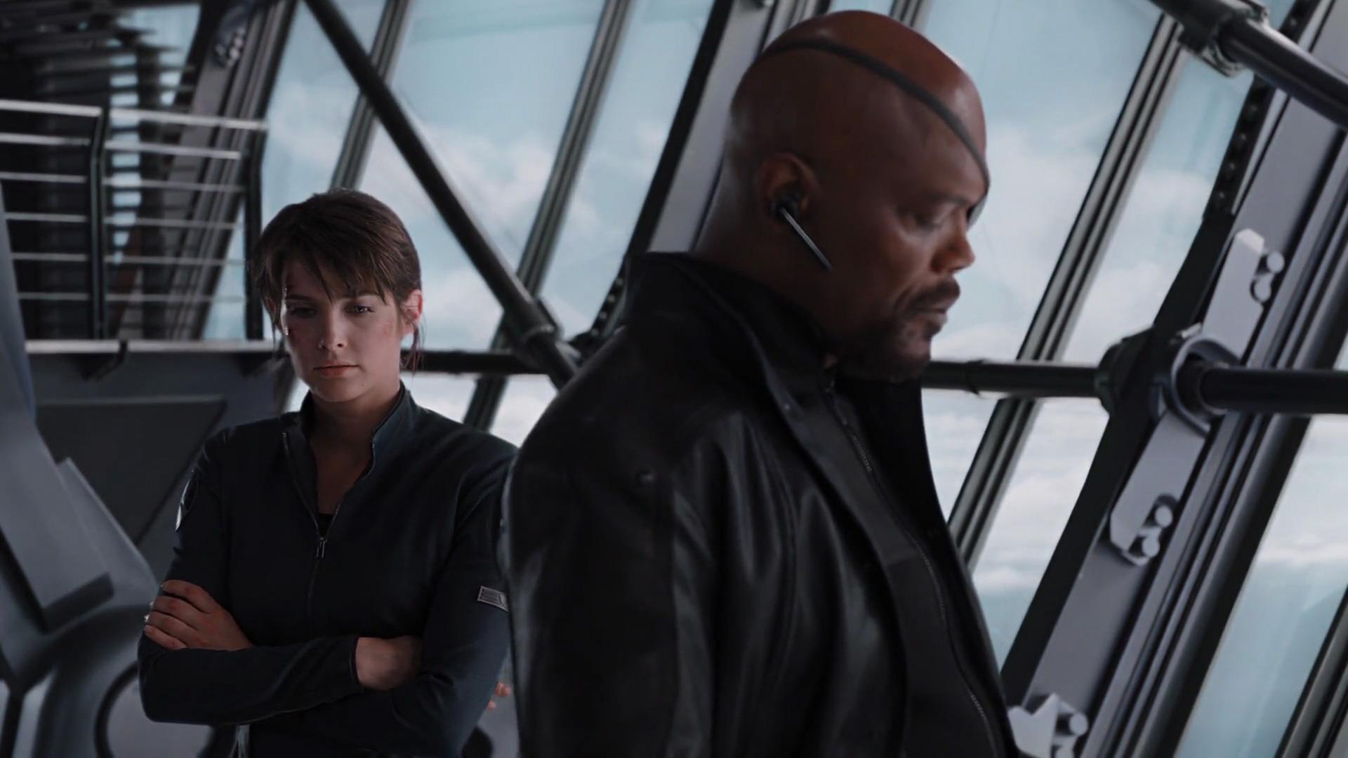 Resultado de imagen para Nick Fury y Maria Hill