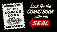 Comics Code Authority Approval Seal (75 Years)