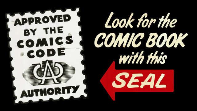 File:Comics Code Authority Approval Seal (75 Years).png