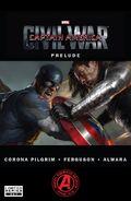 Captain America Civil War Prelude -4 cover