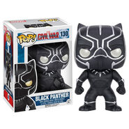CW Funko Black Panther