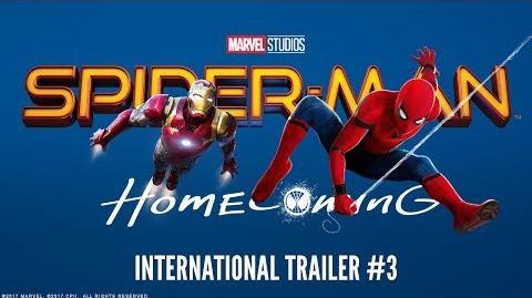 SPIDER-MAN HOMECOMING - International Trailer 3 (HD)