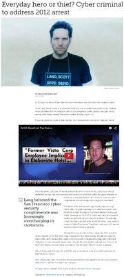 Mashable - Everyday hero of thief. Cyber criminal to address 2012 arrest - Scott Lang