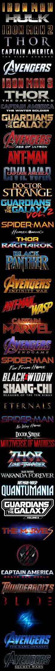MCU Films Logos