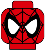 Lego spider-man the web series face decal