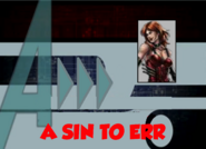 A Sin to Err (A!)