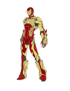 Iron Man Exceed Velocitas Armour