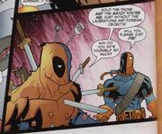 Artemis vs Deadpool