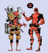 Deadpool tries to improve Spidey