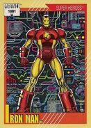 Anthony Stark (Earth-616) from Marvel Universe Cards Series II 0001