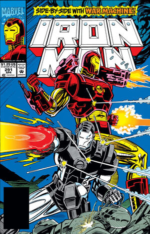 Iron Man Vol 1 291