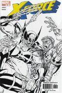 X-Force Vol 2 4 Sketch Variant