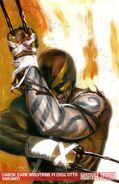 Daken Dark Wolverine Vol 1 1 Textless Dell'otto Variant