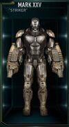 Iron Man Armor MK XXV (Earth-199999)