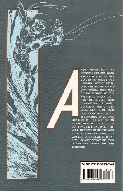 Avengers Vol 1 369 Back Cover