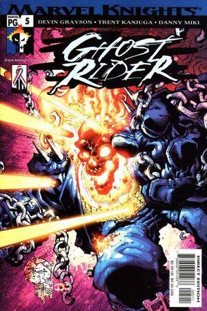 Ghost Rider Vol 4 5