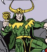 Loki Laufeyson (Earth-77013) Spider-Man Newspaper Strips
