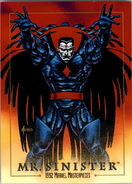 Nathanial Essex (Earth-616) from Marvel Masterpieces Trading Cards 1992 0001
