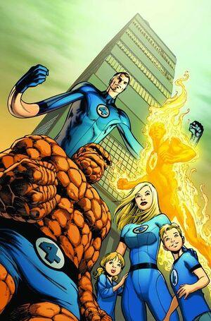 Marvel's Greatest Comics Fantastic Four Vol 1 570 Textless