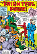 Reed Richards and Sue Storm announce their wedding from Fantastic Four Vol 1 36