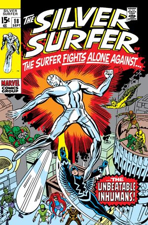 Silver Surfer Vol 1 18