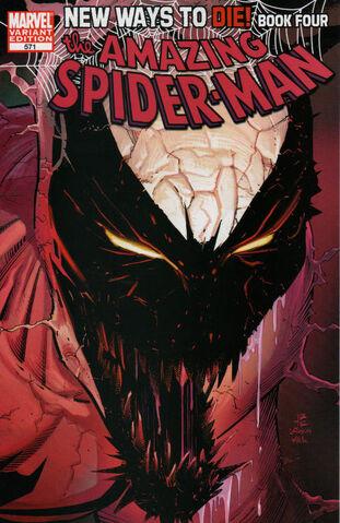 File:Amazing Spider-Man Vol 1 571 John Romita Jr Variant.jpg