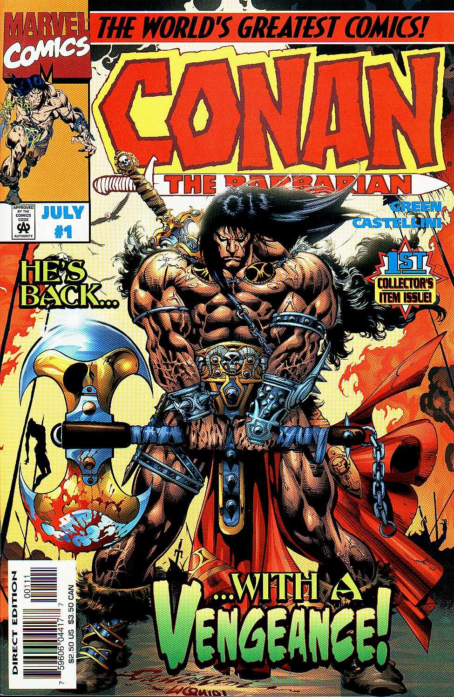 Conan the Barbarian Vol 2 1 | Marvel Database | FANDOM