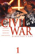 Civil War Vol 1 1 Director's Cut Variant